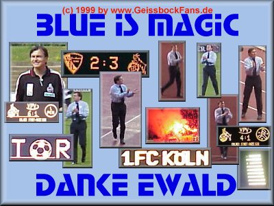 Blue Is Magic - Danke Ewald!!!
